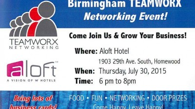 Networking Event - July 30, 2015!