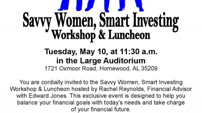 Savvy Women, Smart Investing Workshop