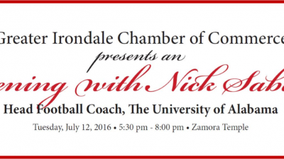 Evening with Nick Saban