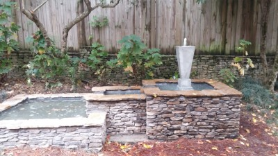 Rock Fountain Build