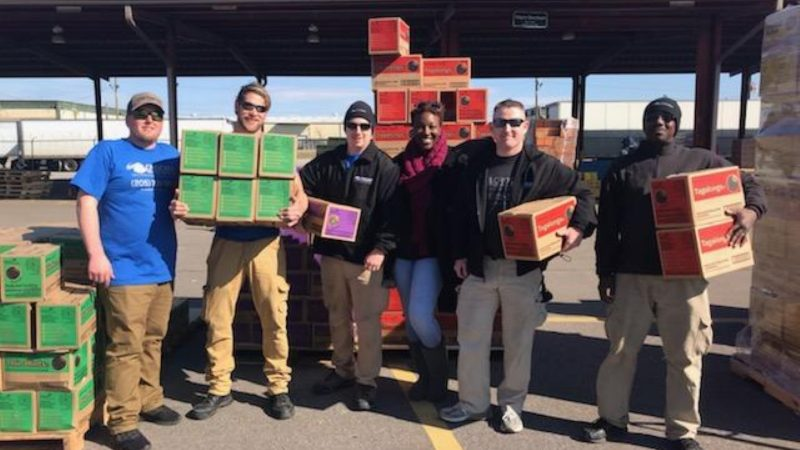Crocker Moving Helps Girl Scout Cookies